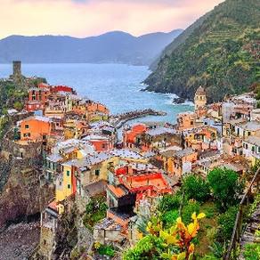 Final de semana em Cinque Terre