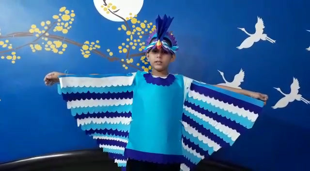 Reyansh Seghal 4B as Blue Hornbill.mp4
