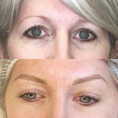My client wanted to have an arch and a fuller eyebrow!!! ✅  love this transformation!!!_,_Permanent Makeup Ibrows by Olga.jpg