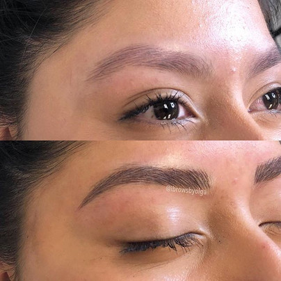 This very young girl wanted definition and a shape . She already had brows but too light for her and very spared.jpg