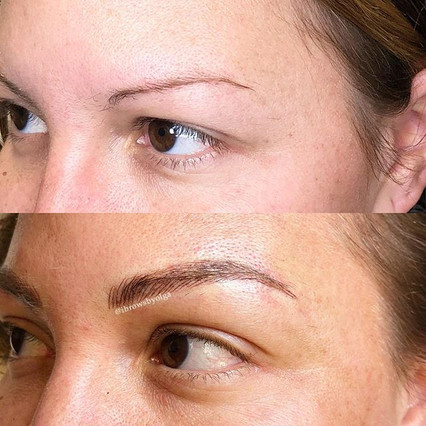 The left eyebrow! 😍😍👌🏻 Permanent Makeup Ibrows by Olga.jpg