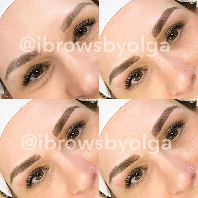 No one will tell these bad boys are actually 90% Microblading!!_._Permanent Makeup Ibrows by Olga.jpg