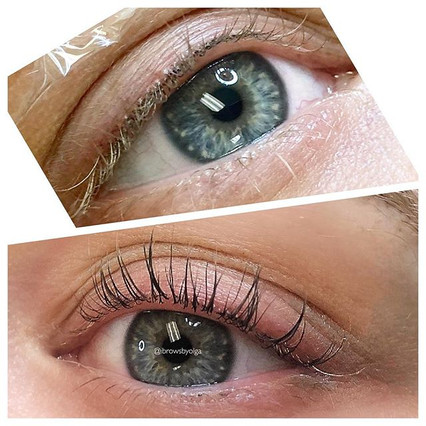 Lash Lift and Tint !! Amazing results !