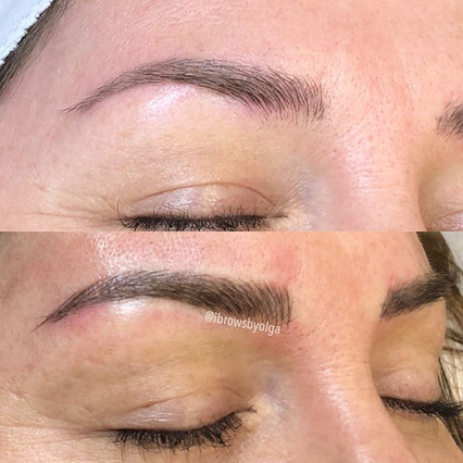 The right eyebrow!! We built those eyebrows in two sessions!!!!_._Permanent Makeup Ibrows by Olga.jpg