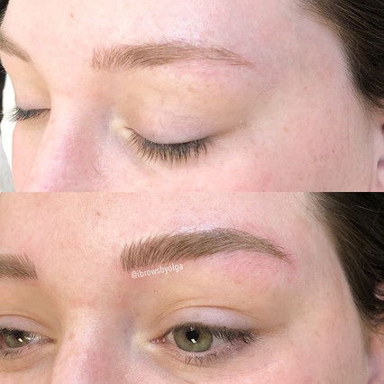 This is a build up process!! The left eyebrow!! Thank you Devon for trusting me your beautiful face!!_._Permanent Makeup Ibrows by Olga.jpg