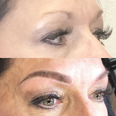 Right eyebrow !! Combined technique of Nanoblading and Nanoshading!!!_._Permanent Makeup Ibrows by Olga.jpg