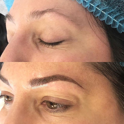 We used all her eyebrow hairs to create more fullness!!!_. _Permanent Makeup Ibrows by Olga.jpg