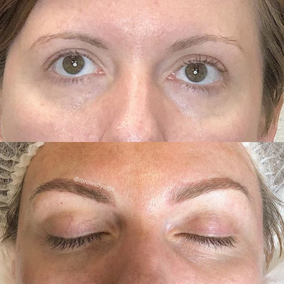 My client wanted more fullness and shape for her eyebrows!! We nailed it!! 💥 !!!!_._Permanent Makeup Ibrows by Olga.jpg