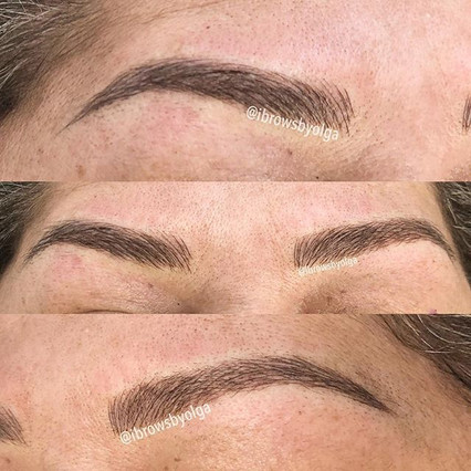 This client didn't have much brow hair, I reproduced all her eyebrows to get them back again.!!_._Permanent Makeup Ibrows by Olga.jpg
