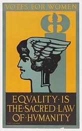 Votes for Women - Equality is the Sacred