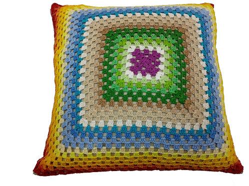 Capa para Almofada multicolorida 40 x 40