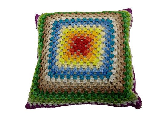 Capa de almofada multicolorida 30 x 30