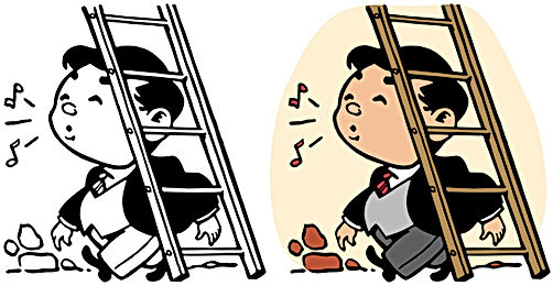 Don't Walk Under the Ladder, Bad Luck may Stream Upon You! Scientific Reason Behind Common Belief