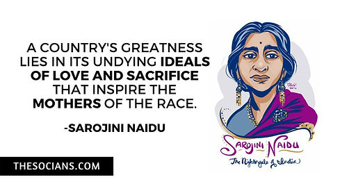 Sarojini Naidu: Best 9 Quotes For You