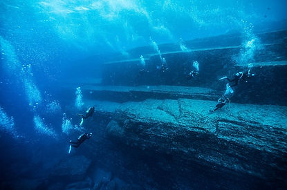 Yonaguni Monument: Mystic Pyramid & the Lost City of Atlantis also Known as underwater Machu Picchu