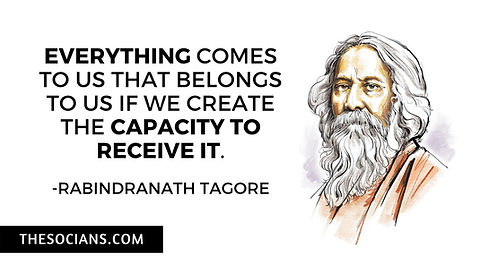 Rabindranath Tagore: Best 20 Quotes For You