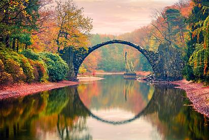 Die Rakotzbrucke: Know The Dark Secret Story Hiding Behind the Illusionary Bridge of Kromlau!
