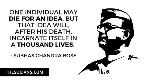 Subhas Chandra Bose: Best 20 Quotes For You