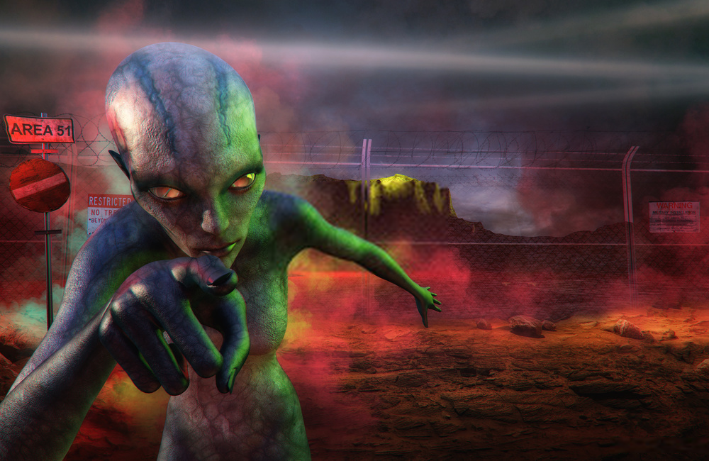 Area 51: The Secret land of US Conspiracy Theories or Alien Land with Extraterrestrial Connection