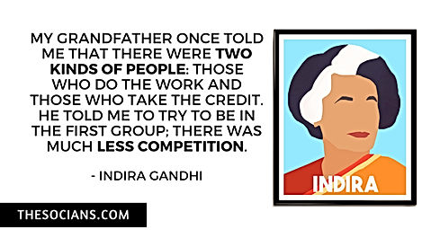 Indira Gandhi: Best 20 Quotes For You