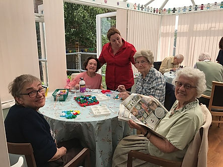 Day care services for the elderly Staffordshire