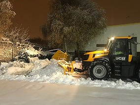 snow clearance uk
