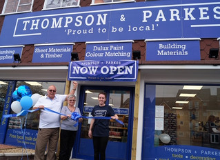 Thompson & Parkes Opens New DIY Retail Shop in Stourport