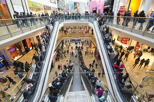 shopping centre in Birmingham