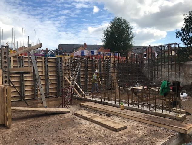 Cellar Construction Work