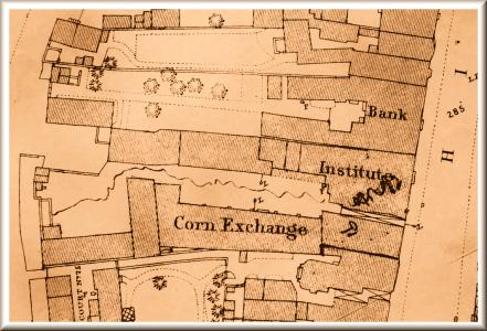Bromsgrove-1883-Map-Site-of-Crown-Inn-sb
