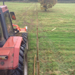 Fencing Completed in Record Time