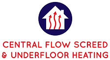 central flow screed and underfloor heating