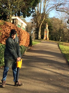 Tidying up Brinton Park