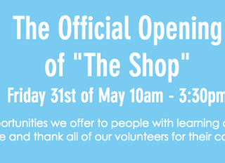 Theofficialopening of 'The Shop'