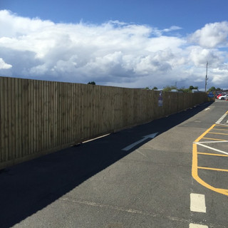 Perimeter Fencing, Line Marking and Signage