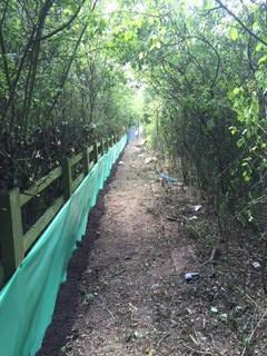 Newt Fencing Wildlife Barrier
