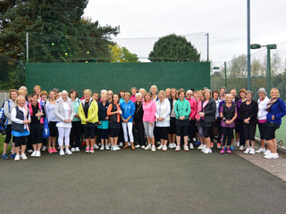 The First Ever EJF Tennis Day!