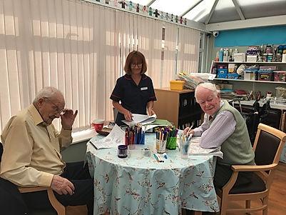 Elderly Day Care Centre Uttoxeter Activities Room Internt