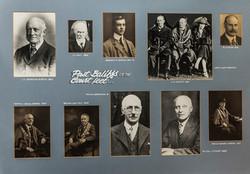 Past Baliffs of the Court Leet