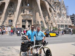 Chris Gibbs ride to Barcelona April 2011