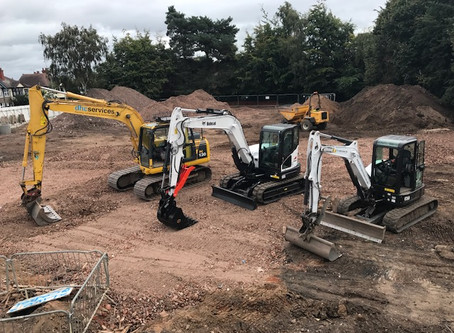 New machinery for DHC