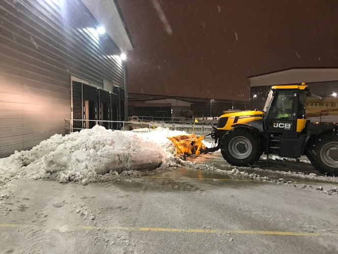 snow clearance in worcestershire