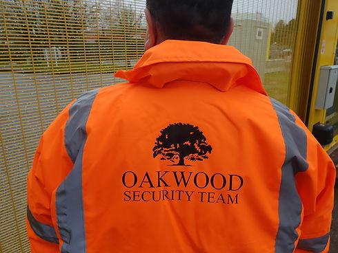 Oakwood Security Solutions jacket