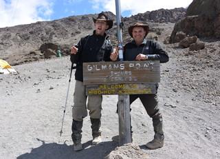 Walk up Mount Kilamanjaro 2014