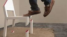 La scenografia di una sedia