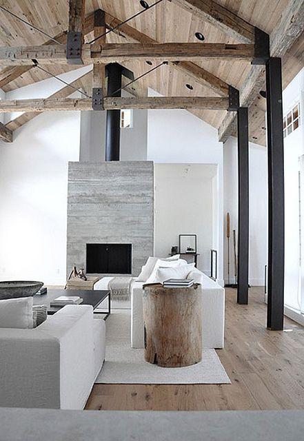 soggiorno legno