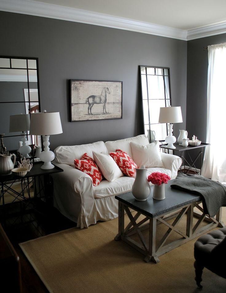 soggiorno grigio