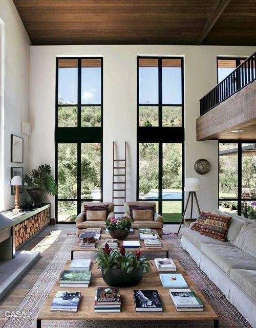 soggiorno vetrate