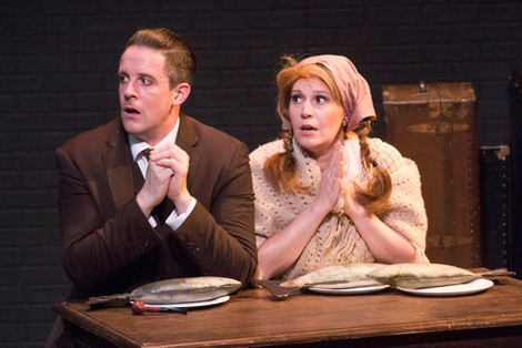 39 Steps - Hannay and Margaret