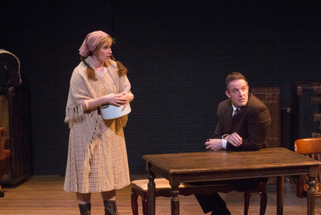 39 Steps - Margaret and Hannay